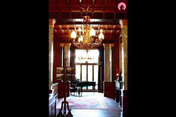 Picture of an event venue rental in Schaerbeek, Brussels, Inside Eugène Autrique's house 1056