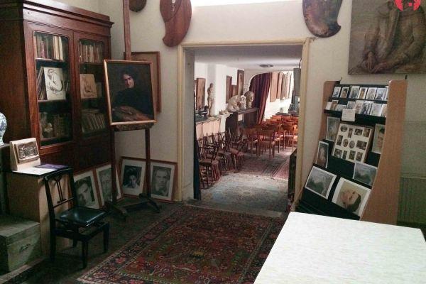 Photo d'une salle à louer à Bruxelles, Bruxelles, Dans la maison de Marcel Hastir 1069