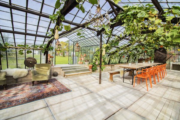 Picture of an event venue rental in Overijse, Flemish Brabant, Inside Donatienne's greenhouse 3770