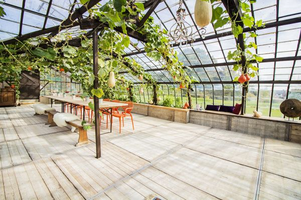 Picture of an event venue rental in Overijse, Flemish Brabant, Inside Donatienne's greenhouse 3771