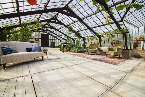 Picture of an event venue rental in Overijse, Flemish Brabant, Inside Donatienne's greenhouse 3774