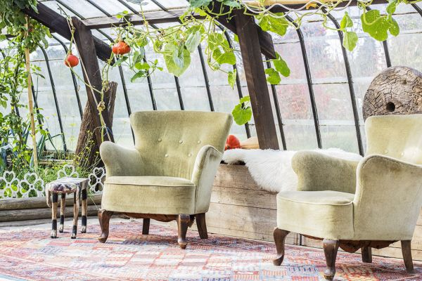 Picture of an event venue rental in Overijse, Flemish Brabant, Inside Donatienne's greenhouse 3780