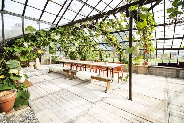 Picture of an event venue rental in Overijse, Flemish Brabant, Inside Donatienne's greenhouse 3792