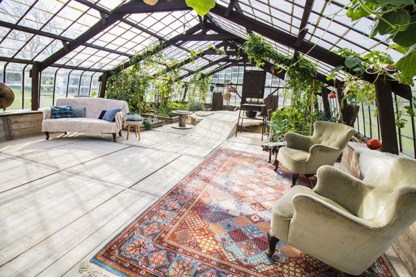 Picture of an event venue rental in Overijse, Flemish Brabant, Inside Donatienne's greenhouse 3793